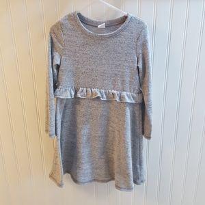 Like 🆕️ baby GAP 5T Girls Grey Sweater Dress
